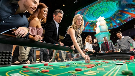Casino spelare